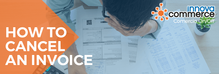 How to cancel an invoice