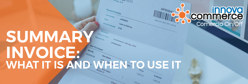 Summary invoice: what it is and when to use it