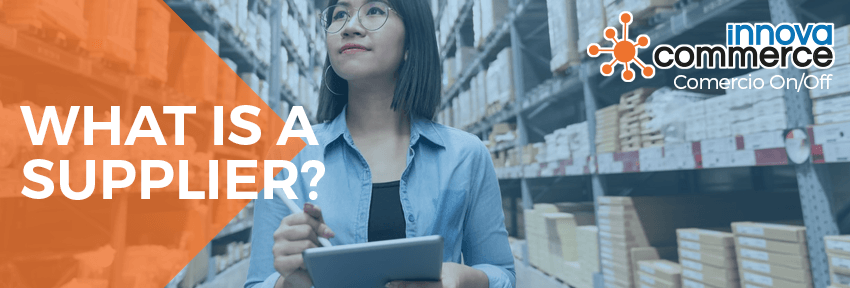 What is a supplier?
