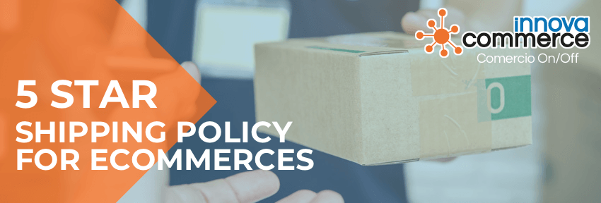 5 star shipping policy for ecommerces